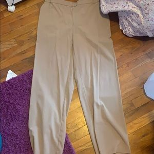 Tan work pants size 16w